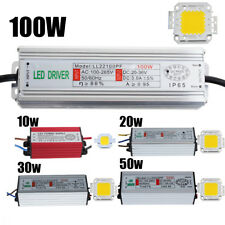 10W 20W 30W 50W 100W High Power LED Driver Supply&LED SMD Chip Bulbs Waterproof