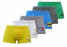 Men's Retro Comic 2 x BOXER SHORTS SIMPSONS BATMAN Snoopy Roadrunner Pepè Le Pew
