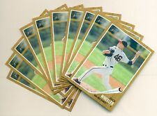 (10) 2011 TOPPS HERITAGE MINOR LEAGUE ZACK WHEELER #102 ROOKIE LOT OF 10 CARDS