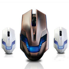 2000DPI Adjustable Optical USB Wired Gaming Mouse Gamer Game LED For Laptop