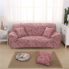 1/2/3 Seater Comfortable Stretch Elastic Sofa Couch Slip Cover Brick Red