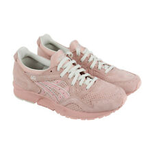 Asics Gel Lyte V Mens Pink Suede Lace Up Sneakers Shoes