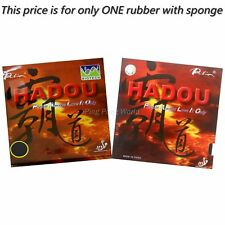 Palio Hadou BIOTECH Pips In Table Tennis  Rubber with Sponge