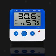 Indoor Outdoor Digital LED Thermometer Hygrometer Meter Temperature Humidity