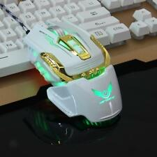 Professional LED Optical 3200 DPI Button USB Wired Gaming Mouse Mice for PC