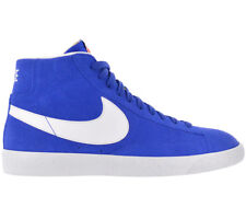 NIKE BLAZER MID PREMIUM SNEAKER BLUE MEN'S LEATHER SHOES TRAINERS 429988-401