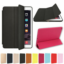 Ultra Thin PU Leather Shockproof Magnetic Smart Stand Cover Case For Apple iPad