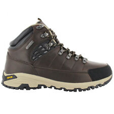 Hi-Tec Pilot Mid WP Outdoor Men's Boots Leather Brown Hiking Shoes Hiking Boots