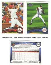 2011 Topps Diamond Anniversary Limited Ed Parallel Sets ** Pick Your Team Set **