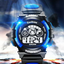 Digital LED Sports Watch Rubber Strap Swim Wristwatches Stopwatch Alarm Calendar