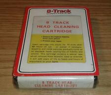 8 Track Head Cleaning Cartridge NEW OLD STOCK STILL SEALED IN FACTORY SHRINK