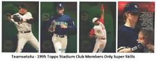 1995 Topps Stadium Club Members Only Super Skills Baseball Set ** Pick Your Team