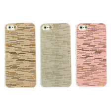Electroplating Scribble Line Pattern Design Hard Case Cover Skin for iPhone 5 5S