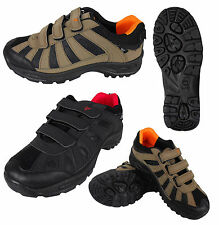 Mens Boys Walking Hiking Boot Trainer Trail Boots Shoes Rugged Trainers Shoe New