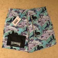 Vilebrequin Moorea Sea Lion Swim Shorts / Trunks - Azur Blue RRP: £170.00