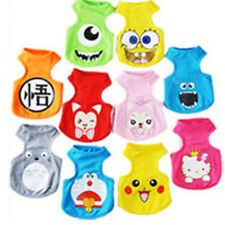 HOT-Small Pet Dog Clothes Fashion Costume Vest Puppy Cat T-Shirt Summer Apparel