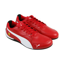 Puma Sf Drift Cat 7 Mens Red Synthetic Lace Up Sneakers Shoes