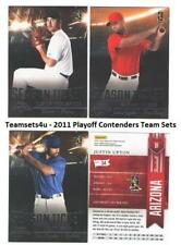 2011 Playoff Contenders (Season Ticket) Baseball Set ** Pick Your Team **
