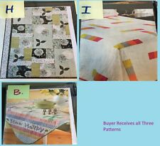 Choice or LOT Beginner Magazine Quilting Patterns Baby Quilt Wall Hanging...Misc