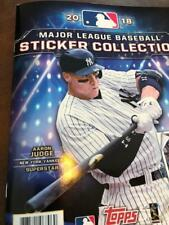 Pick Your Cards (Stickers) 2018 Topps MLB Baseball Sticker Collections (#1-150)