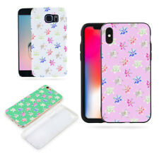 Colorful Lily Flower Case Cover for iPhone X (10) 7 8 Samsung Galaxy S8 Pretty