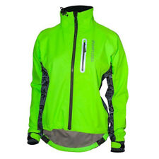 Showers Pass Women's Hi-Viz Elite Cycling Jacket w/Red LED Beacon - 1251 (Neon