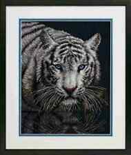 Counted Cross Stitch Kit INTO THE LIGHT Tiger Dimensions