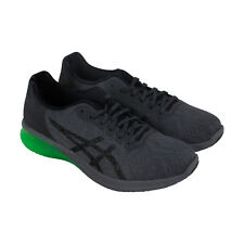 Asics Gel Kenun Mens Gray Textile Athletic Lace Up Running Shoes