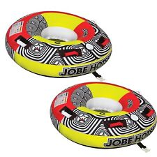 2 Buy Jobe Hot Seat 1 Person Towable Ski Tube Inflatable Biscuit Boat Ride
