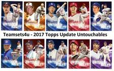 2017 Topps Update Untouchables Baseball Set ** Pick Your Team ** See Checklist *