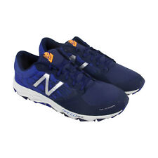 New Balance Trail Mens Blue Textile Athletic Lace Up Running Shoes