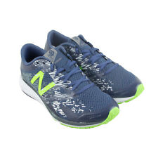 New Balance Course Mens Blue Mesh Athletic Lace Up Running Shoes