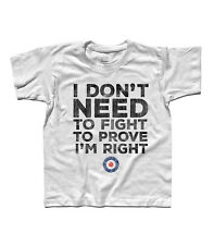 T-SHIRT baby THE WHO BABA Or'RILEY TARGET vespa MODS PETE TOWNSHEND vespa style