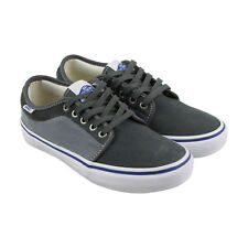 Vans Chukka Low Pro Mens Gray Suede Lace Up Sneakers Shoes