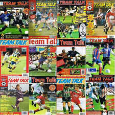 TEAM TALK Non League Football Magazine Contents INDEX SHOWN - Various