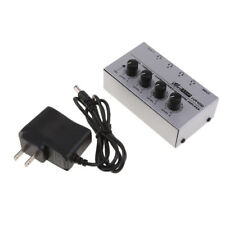Durable Compact Stereo Headphone Amplifier for Audio System with US Plug