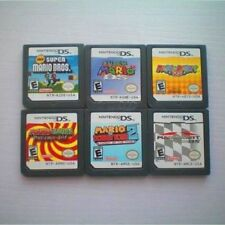 Super Mario64 DS+Super Mario Bros US Edition For Nintendo 3DS NDSi NDS Game Case
