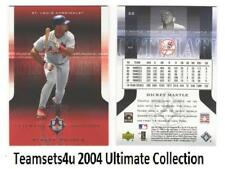 2004 Ultimate Collection (1-209 Serial #ed) Baseball Set ** Pick Your Team **