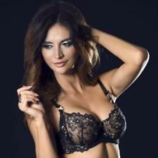 Sheer Floral Lace Full Busted Bra Caprice Fashion Lingerie Hortense, Sexy Sheer