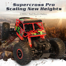 Electric Rc Car 1/18 Scale Rock Crawler 2.4G 4WD Off Road Climbing Monster Truck