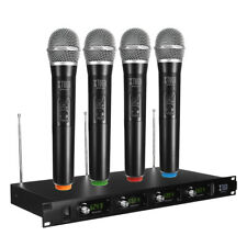 Wireless Handheld Microphone System 2/4 Channel UHF/VHF Cordless Digital Lot