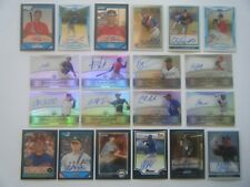 HUGE 20 ALL Autograph lot J.D. MARTINEZ REFRACTOR ROOKIE HUNTER PENCE Auto