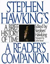 A Brief History of Time: a Readers Companion, Stephen Hawking, Used; Good Book
