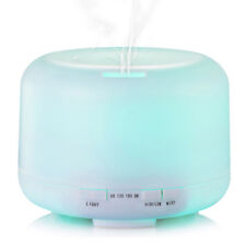 500ML Air Aroma Essential Oil Diffuser 7LED Ultrasonic Aromatherapy Humidifier Z