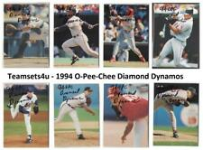 1994 O-Pee-Chee (OPC) Diamond Dynamos Baseball Set ** Pick Your Team **