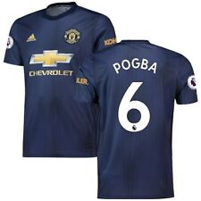 adidas Paul Pogba Manchester United Navy 2018/19 Third Replica Player Jersey