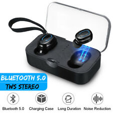 Mini TWS Wireless Bluetooth 5.0 Earbuds Stereo Twin Headset Sport Bass Earphones