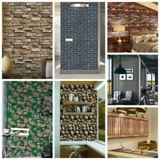 3D Self-Adhesive Art Brick Wall Stickers Living Room Background Wall Panel Decor