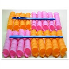 18PCS Magic Long Hair Curlers Curl Formers Spiral Ringlets Leverage Rollers Tool