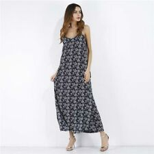 Floral dress Women's boho long chiffon party maxi beach summer cocktail evening